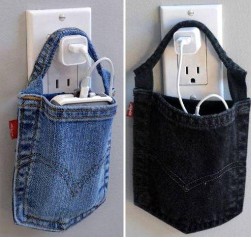 Bolsa de Calça Jeans   Elo7
